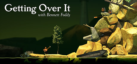 【Getting Over It】ゲームレビュー ~おもしろSteam編~